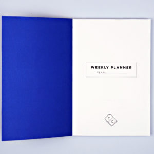 The Completist -  INKY WEEKLY PLANNER BOOK