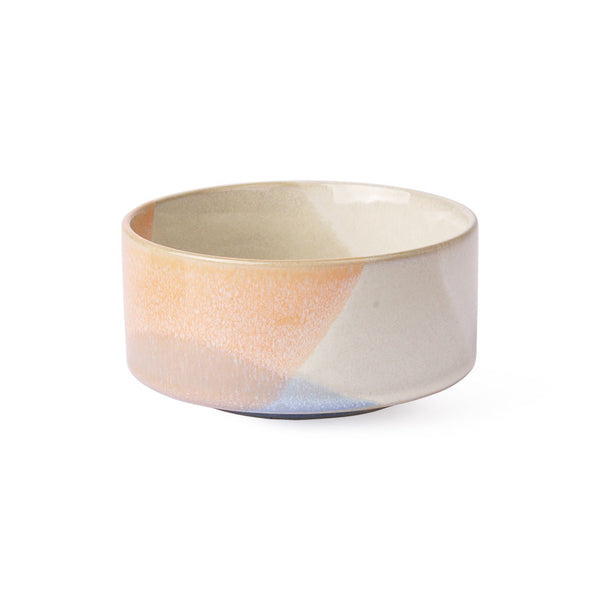 HK LIVING  - Gallery ceramics: bowl - blue/peach