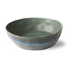 HK LIVING - Ceramic 70's pasta bowl - Moss