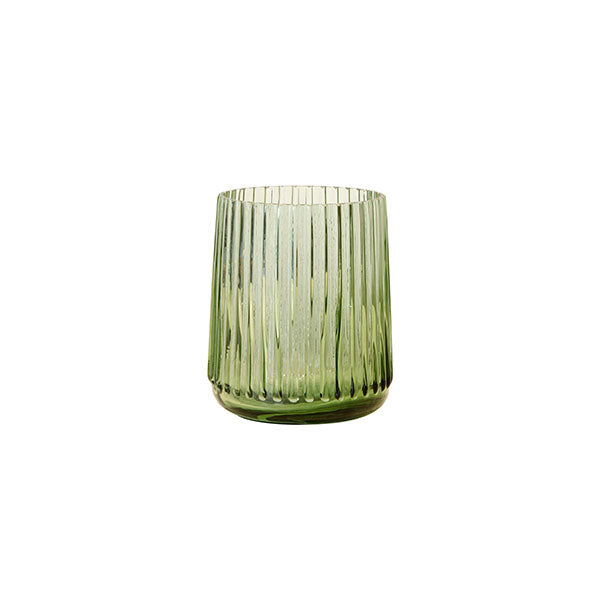HK LIVING - Green glass vase