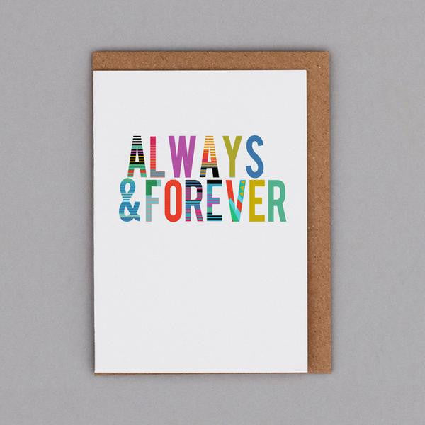 Kitty McCall - Always and Forever card