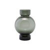 House Doctor - Vase - Bubble - Grey, dia: 17.5 cm, h: 25 cm