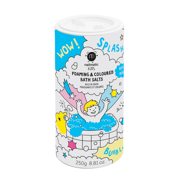 Nailmatic - Foaming Bath Salts - Blue