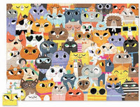Crocodile Creek - 72 pc Puzzle/Lots of Cats