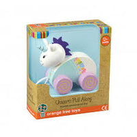 Orange Tree Toys - Pull Along - Unicorn