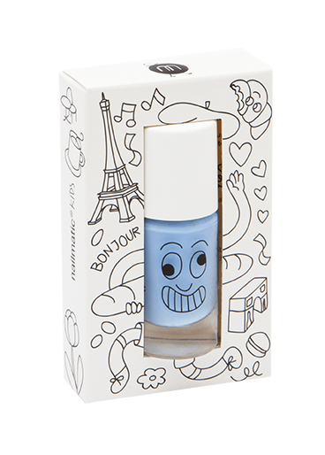 Nailmatic Polish Gaston Blue