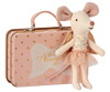 Maileg Mouse, Guardian, Angel in Suitcase