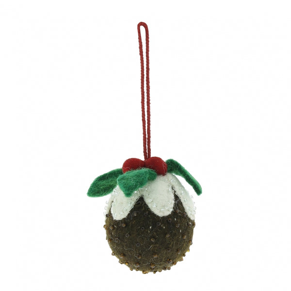 Fiona Walker - Felt Christmas Pudding Dec