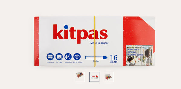 Kitpas - Crayon Medium 16 colours