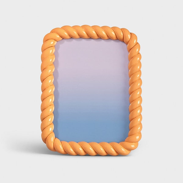 &Klevering - Photo frame braid rectangle peach