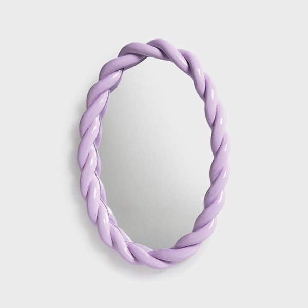&Klevering - Braid Mirror - lilac