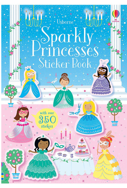SPARKLY PRINCESSES STICKER BOOK