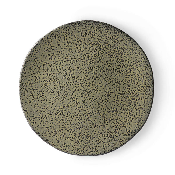 HK LIVING  - gradient ceramic dinner plate
