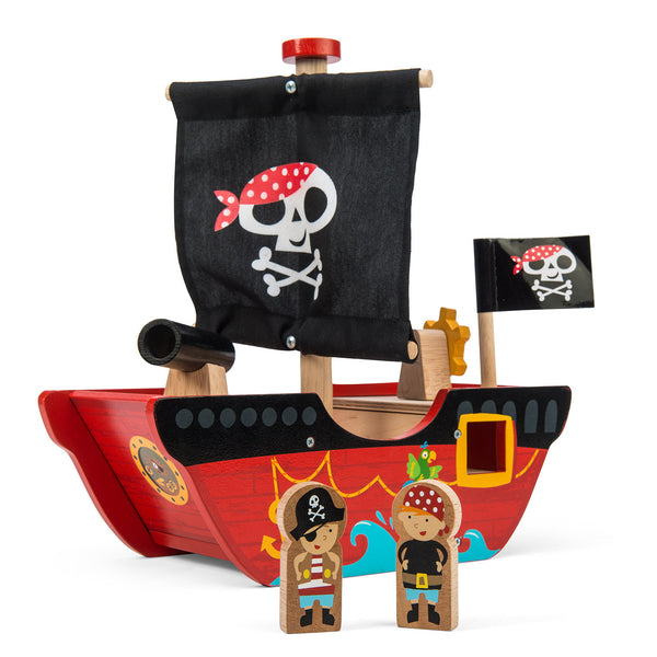 Le toy Van Little Captain Pirate Boat