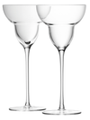 LSA - Bar Margarita Glass 250ml Clear x 2