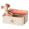 Maileg - Dancing mouse in daybed, Little sister