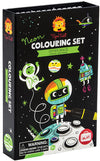 Crocodile Creek - Neon Colouring Sets/Outer Space