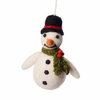 Amica - Snowman with Holly Scarf