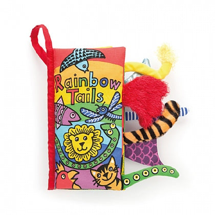 Jellycat - Tails Rainbow Book