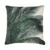 HK LIVING -  Printed cushion palm leaves