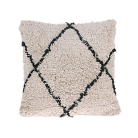 HK LIVING - cotton diamond cushion - 50x50