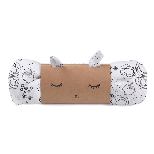Wee Gallery Muslin Swaddle - Bunnies