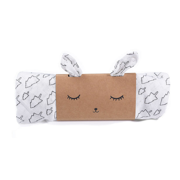 Wee Gallery Muslin Swaddle - Trees