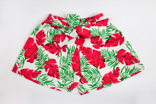 Girls Tropical Shorts