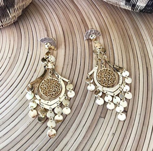 24k Gold Plated PoPoro Earrings