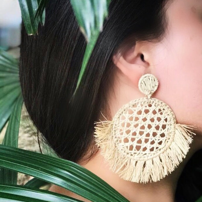 Palma de Iraca Earrings