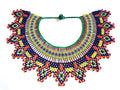 Tribal Bib-like Beaded Necklace (Sold Out - Pre Order)