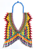 Tribal Bib-like Beaded Necklace (Sold Out - Pre-Order)