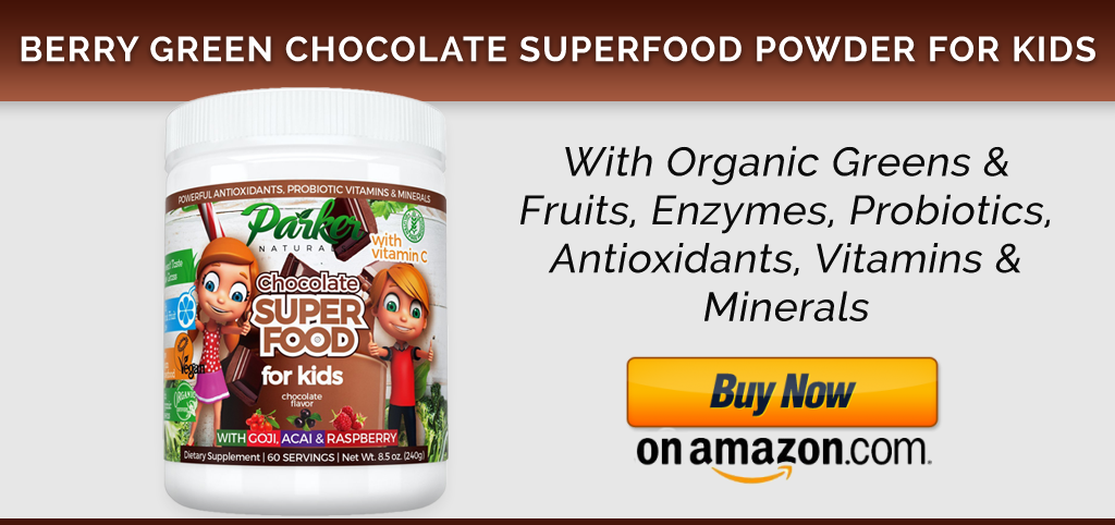Parker Naturals Chocolate Superfood Powder for Kids
