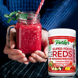 Superfood Reds Organic Antioxidant Powder - Parker Naturals - Journey to a better you.