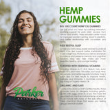 Organic Hemp Oil Gummies - Parker Naturals - Journey to a better you.