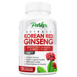 Korean Red Ginseng - Parker Naturals - Journey to a better you.