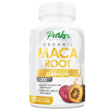 Maca Root Capsules Big 1200mg Size 120 Veggie Caps. More Potent Herbal Benefits. Builds Muscle, Increases Strength, Boosts Energy & Stamina. Protein, Fiber, Vitamin C, B6, Potassium, Iron, Copper - Parker Naturals - Journey to a better you.