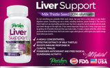 Premium Milk Thistle Liver Support Formula