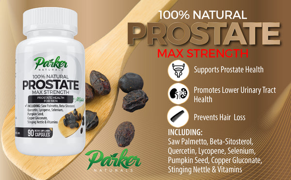 Saw Palmetto Capsules For Prostate Health - Parker Naturals - Journey to a better you.