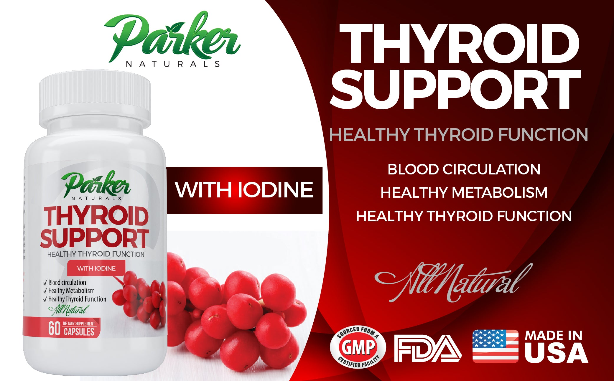 Vitamins For Energy >> Thyroid Support Supplement Energy Vitamins