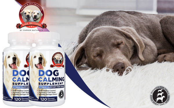 Natural Dog Calming Formula Supplement