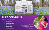 Parker Naturals® Corydalis Natural Pain Relief - Parker Naturals - Journey to a better you.