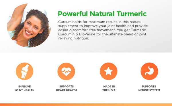 Premium Turmeric Curcumin For Joint Health & Better Movement from Parker Naturals - Parker Naturals - Journey to a better you.