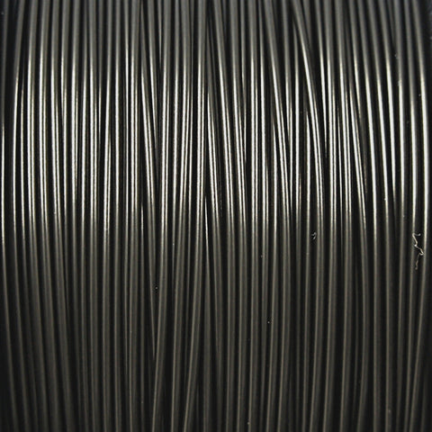 Black PLA 3D Printer Filament, 1.75mm