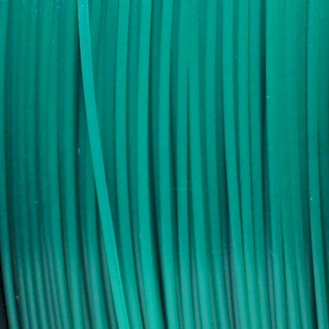 Semi-Translucent Green PLA 3D Printer Filament, 1.75mm