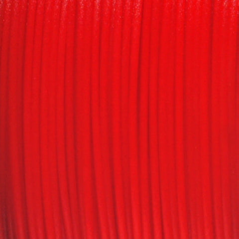 Semi-Translucent Red PLA 3D Printer Filament, 1.75mm