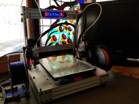 Create 2 Dual Extruder shown