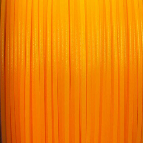 Semi-Translucent Amber PLA 3D Printer Filament, 3mm