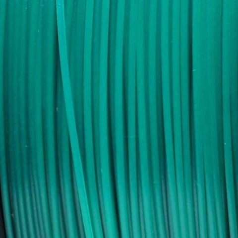 Semi-Translucent Green PLA 3D Printer Filament, 3mm