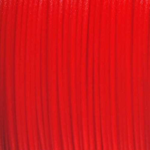 Semi-Translucent Red PLA 3D Printer Filament, 3mm